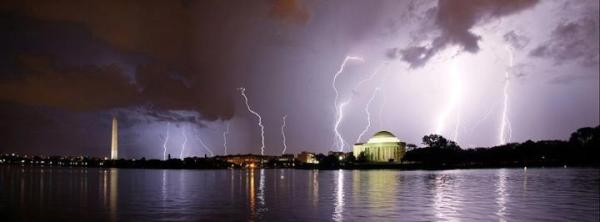 Epic Storm in Washington DC Summer 2012