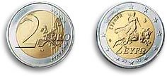 The New Euro features the Harlot - the Anti-Mary on the actual currency - You can't make this stuff up? What are they thinking?