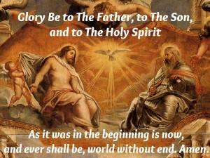 Glory Be Prayer