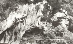 The Original Undisturbed Grotto of Lourdes