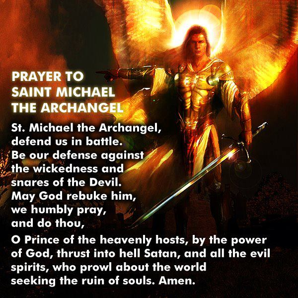 ♥ Prayers to the Angels ♥ Prayer-to-stmichael