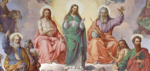 I am the one that is of the Divine Trinity: daughter of the Father, the Mother of the Son, and Spouse and Temple of the Holy Spirit